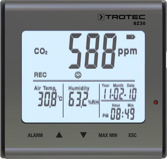 CO2 meter Trotec - VD-Gereedschappen